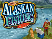 Запустите популярный игровой аппарат Рыбалка На Аляске в режиме онлайн
